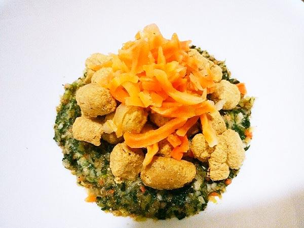 犬猫の肝臓病におすすめのレシピ「健康一番+マグロ+にんじん」