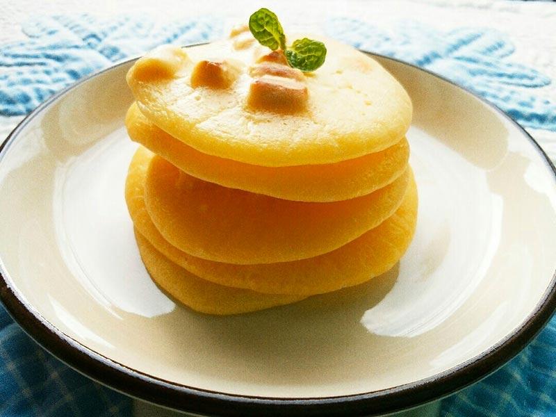 犬猫レシピ「ヤギミルクパンケーキ」
