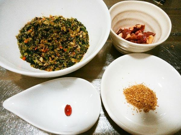 犬猫の心臓病におすすめレシピ「健康一番×鶏ハツ×エゴマ」の作り方2