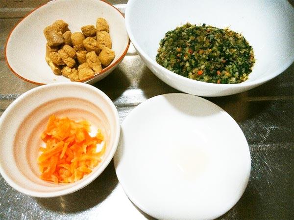 犬猫の肝臓病におすすめのレシピ「健康一番+マグロ+にんじん」1