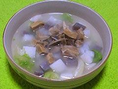 犬猫の便秘におすすめレシピ「お腹にやさしいスープ」