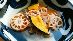 犬猫の馬肉を使ったレシピ「馬肉と野菜のスープ」