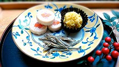 犬猫のさつま芋を使ったレシピ「お正月レシピ・3種盛り」