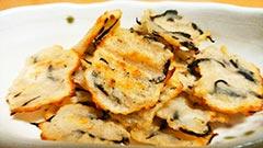 犬猫の白身魚のすり身を使ったレシピ「すり身とひじきのおやつ」