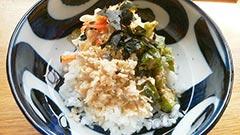 犬猫のコラーゲンキューブスープを使ったレシピ「野菜たっぷりだしかけごはん」