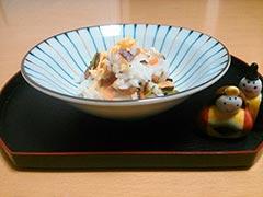 犬猫の鮭を使ったレシピ「鮭ちらし」