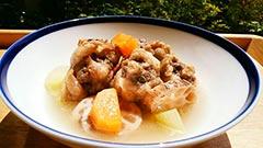 犬猫の鹿肉を使ったレシピ「鹿テールの根菜煮込み」