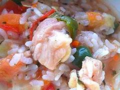 犬猫のオメガ3オイルを使ったレシピ「鶏軟骨のトマトリゾット」