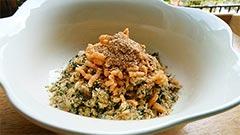 ケイズマイスターを使ったレシピ「健康一番の手作りご飯の具(鶏)のせ」