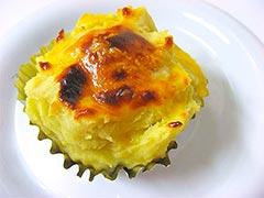 犬猫のさつま芋を使ったレシピ「お手軽スイートポテト」