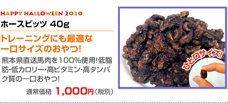 ハッピーハロウィンおやつセット「ホースビッツ 40g」商品詳細