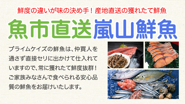 犬猫の手作りご飯におすすめのお魚 商品一覧