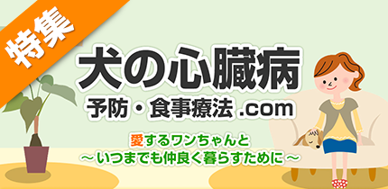 犬猫の症状・病気別食材ナビ【犬の心臓病】