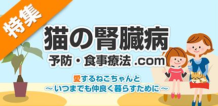 犬猫の症状・病気別食材ナビ【猫の腎臓病】